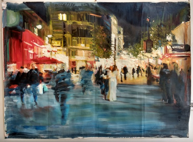 , 'London at Night,' , Inn Gallery