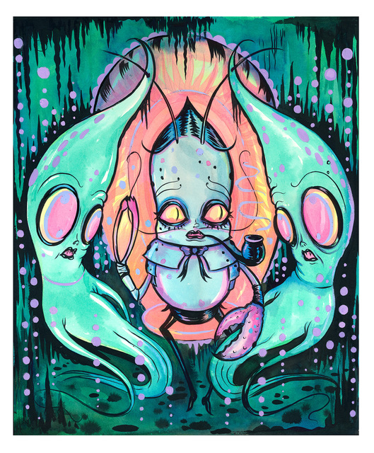, 'Journey from the Bottom of the Sea,' , Corey Helford Gallery