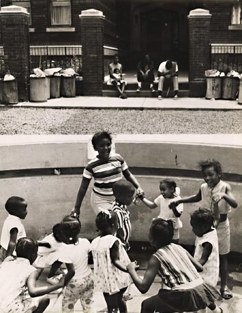 Arthur Tress, 'Experimental Street Park, Black Children Dance While Parents Watch, Brooklyn', 1968/1968, Contemporary Works/Vintage Works