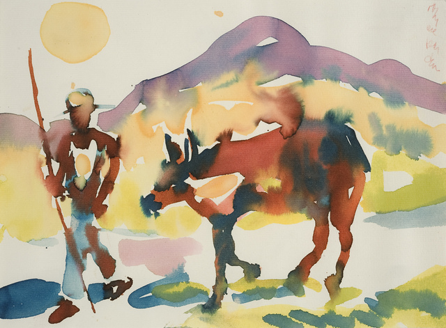 , 'Man with Cow, St. Maarten,' 1979, Aaron Payne Fine Art