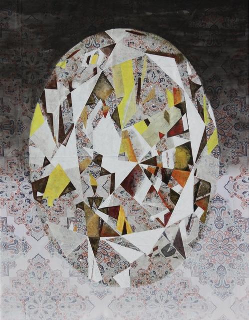 , ''Dazhbog' Fancy Intense Yellow Oval Diamond,' 2018, bG Gallery