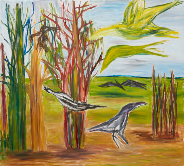 Ken Whisson, 'Real Birds Imagined', 2011-11-18 00:00:00 UTC, Niagara Galleries