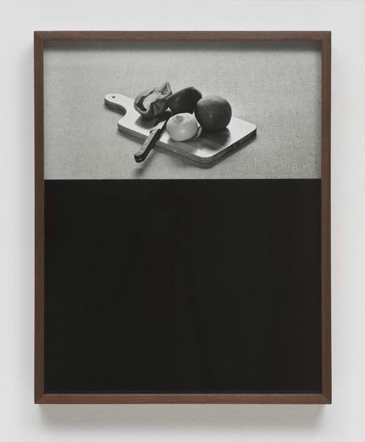 , 'Cutting Board,' 2013, Galerie Francesca Pia