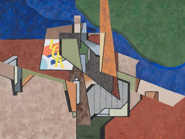 , 'Manufactory 1,' 1987, Caldwell Gallery Hudson