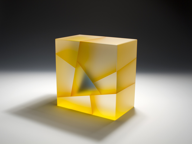 , 'Yellow Blue Cuboid Segmentation,' 2016, Duane Reed Gallery