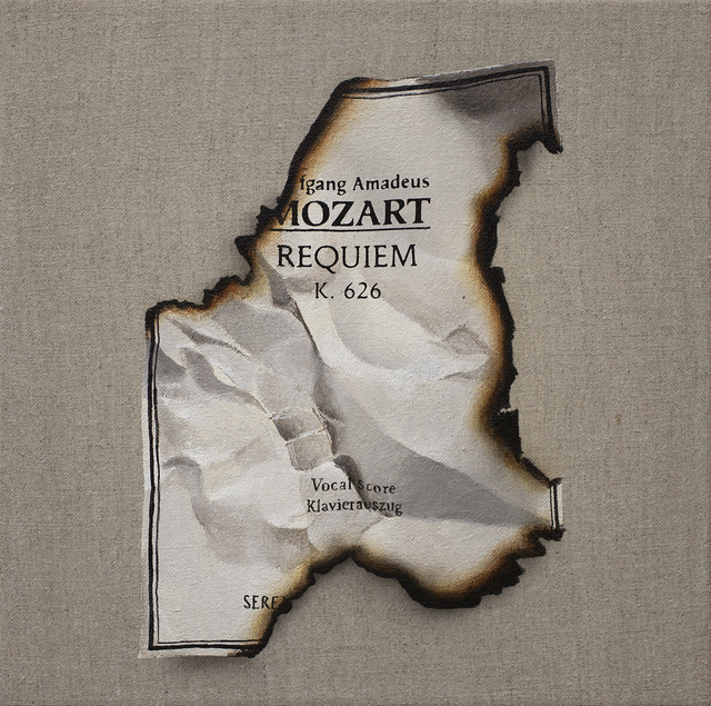 , 'In Memoriam: Mozart,' 2019, Thompson Landry Gallery