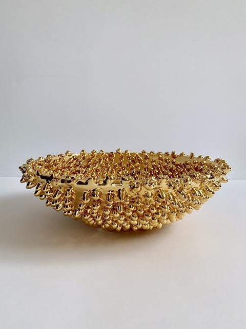 , 'Gold Bowl,' 2018, Tayloe Piggott Gallery