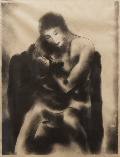 B. J. O. Nordfeldt, 'Mother and Child', Peyton Wright Gallery