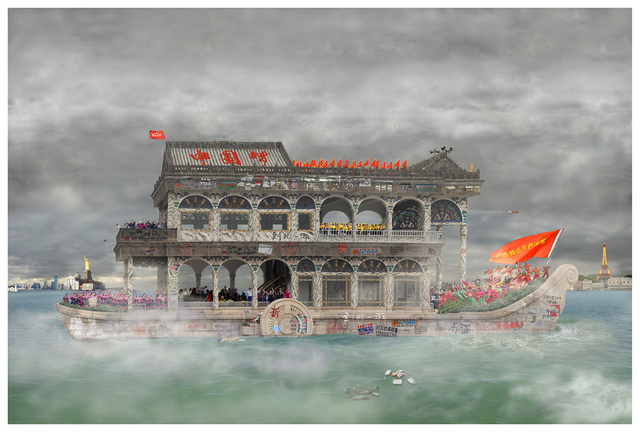 , 'Seaside No.2 海国图志 No.2,' 2014, Art+ Shanghai Gallery