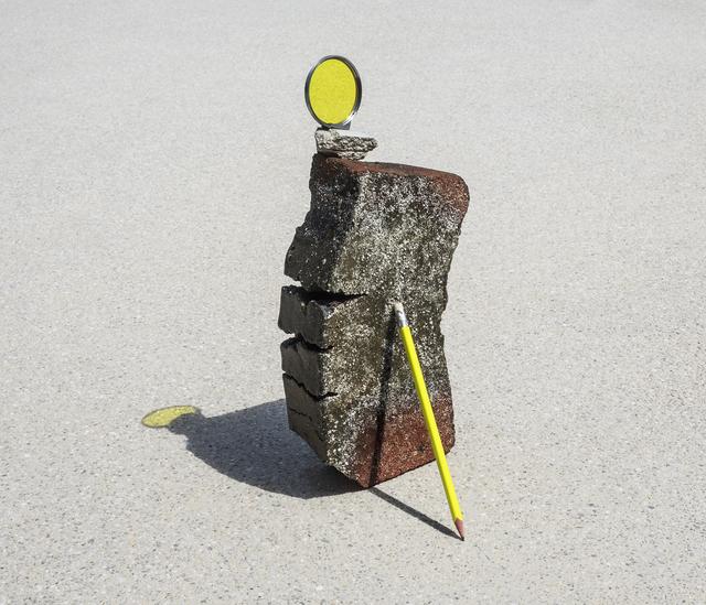 Ilán Rabchinskey, 'Clay, pencil, chromatic filter', 2017, Patricia Conde Galería