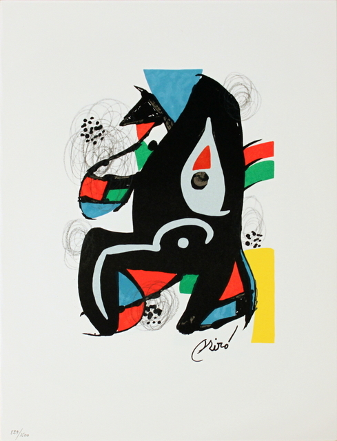 Joan Miró, 'Untitled from La Melodie Acide XIV', 1980, ArtWise