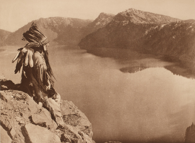 , ' Crater Lake,' 1923, Portland Art Museum