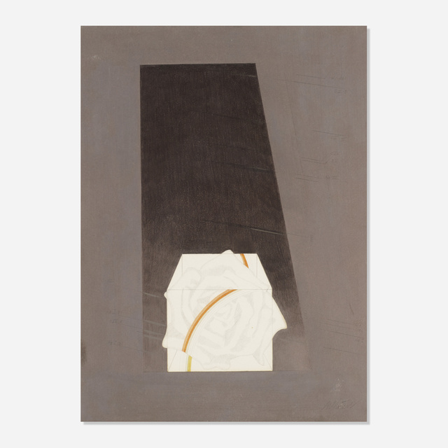 Michelle Stuart, 'Untitled', c. 1975, Drawing, Collage or other Work on Paper, Graphite and colored pencil on paper with linear and numerical impressions, Rago/Wright