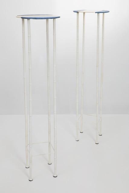 , 'Pair of pedestals ,' 1985, Galleria Rossella Colombari