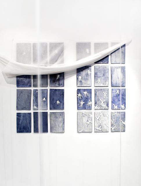 , 'Night. Panel of 24 parts,' 2017, Galerie Iragui