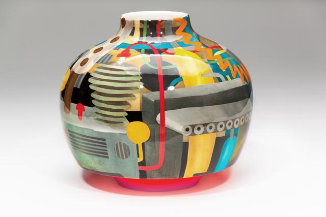 John Newdigate, 'The Machine Behind Me I', 2019-2020, Design/Decorative Art, Hand Painted, Glazed Porcelain, EBONY/CURATED