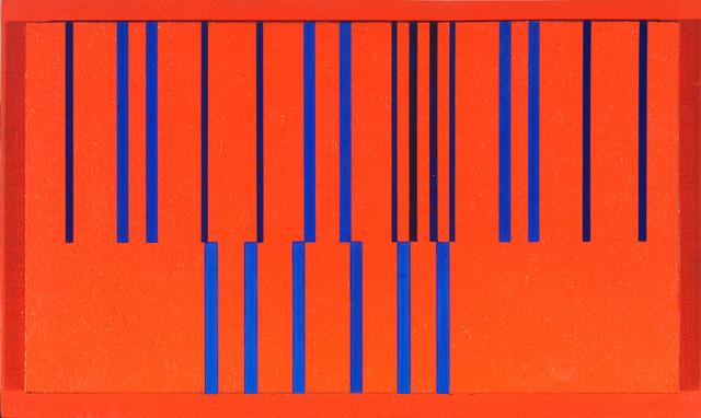 , 'Nuancierte Veränderung/ Nuanced change,' 1961, Walter Storms Galerie