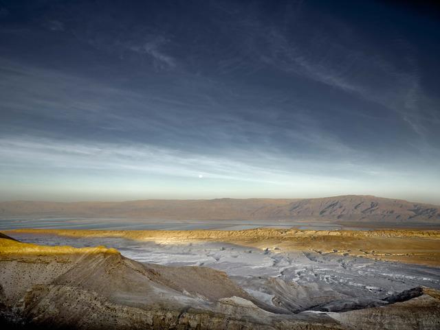 , 'Nahal Pratzim and Dead Sea,' 2013, Vision Neil Folberg Gallery