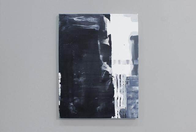 , 'Pasaporte detail (black vertical),' 2014, Josée Bienvenu