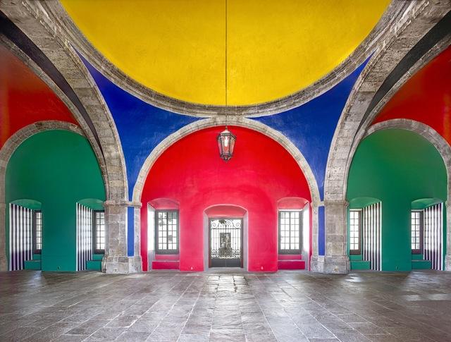 , 'Hospicio Cabañas Capilla Tolsá from Daniel Buren work in situ Guadalajara V 2015,' , Sean Kelly Gallery