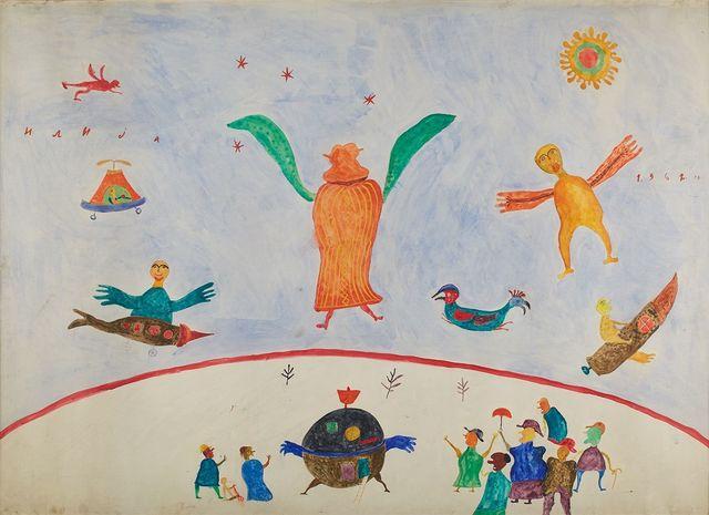 , 'Interplanetary Travelers,' 1962, Cavin Morris Gallery
