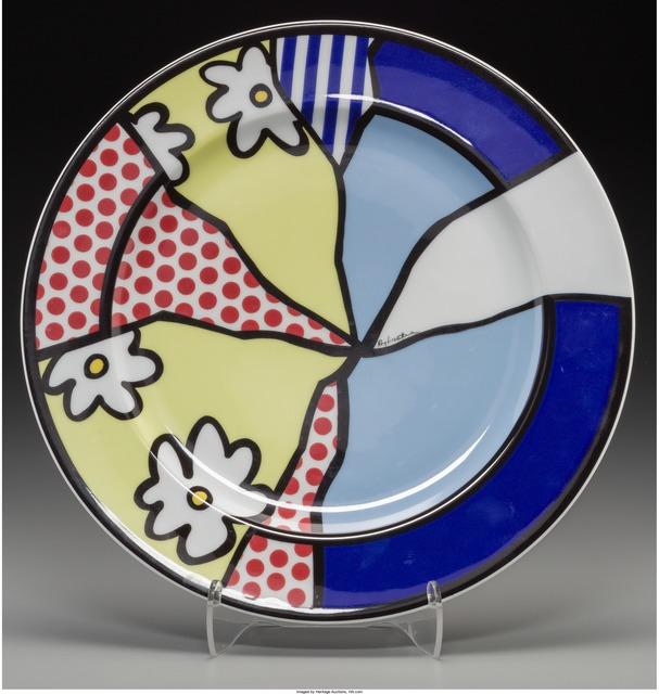 Roy Lichtenstein, 'Water Lilies Plate', circa 1990-Rosenthal, Heritage Auctions
