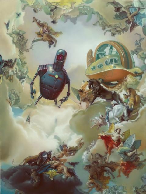, 'Brother Robot (Recomposed Giovanni Battista Tiepolo, Allegorie der Planeten, 1752) ,' 2015, Joerg Heitsch Gallery