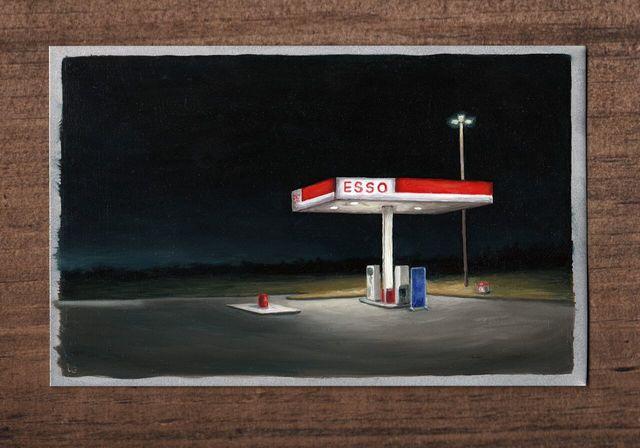 , 'Late Night Fill Up,' , Ro2 Art