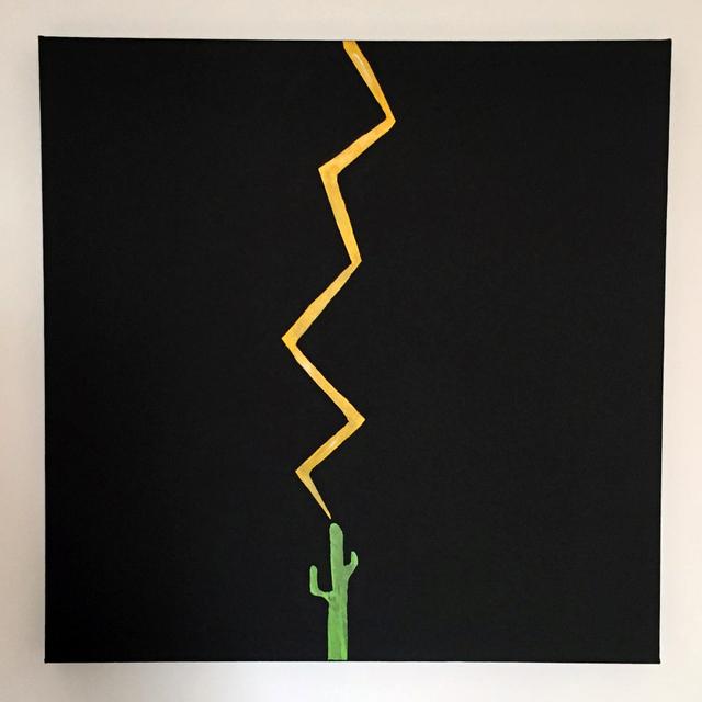 , '(Un)Lucky Fucker,' 2017, Lawrence Alkin Gallery
