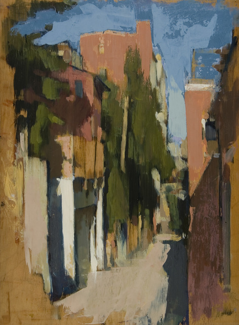 , 'Bancroft Alley,' 2009, Susan Calloway Fine Arts