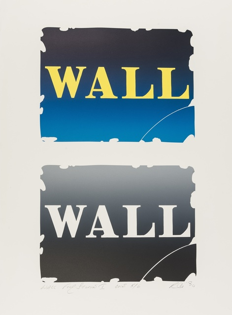 Robert Indiana, 'Wall: Two Stone (See Sheehan 141)', 1990, Forum Auctions