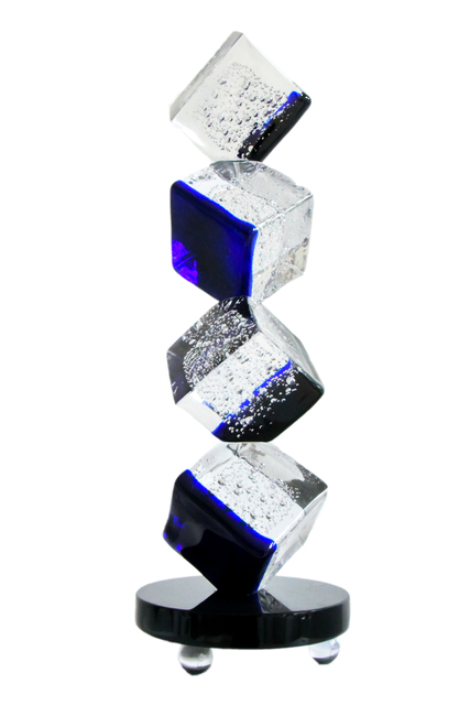 , 'Blue Ice,' 2016, Murano Midwest