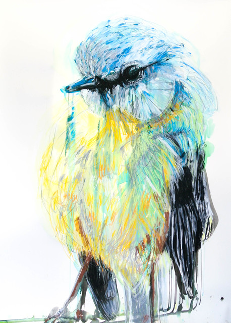 , 'Yellow Robin,' 2015, .M Contemporary