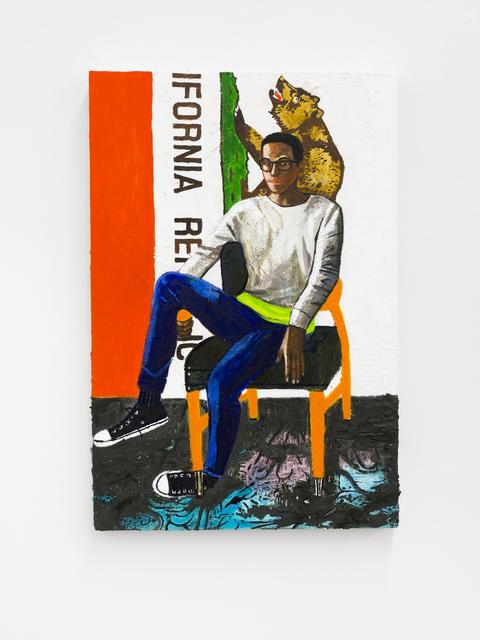 , 'Steven,' 2018, Buchmann Galerie