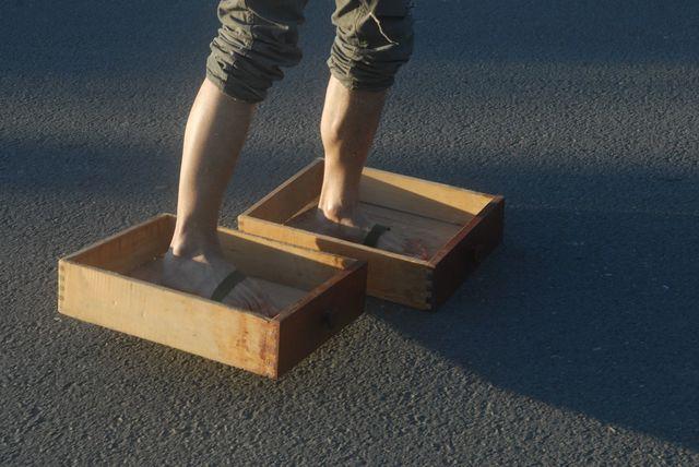 , 'Drawer Feet,' 2013, Gallery Yang