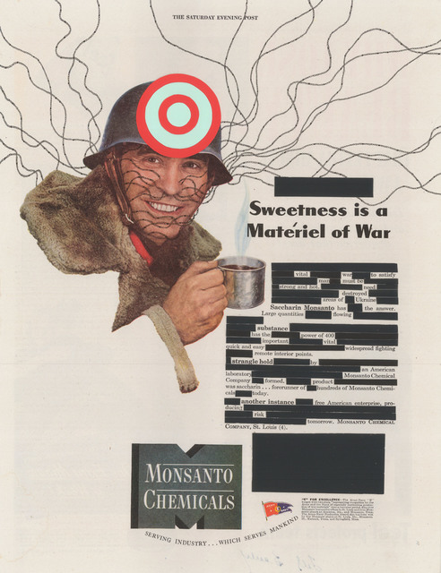 , 'Sweetness is a Materiel of War,' 2013, Nome