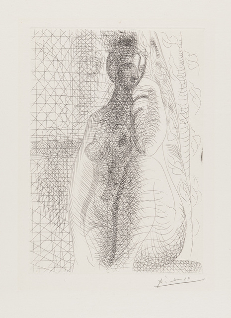 Pablo Picasso, 'Female Nude with Leg Bent', Christopher-Clark Fine Art