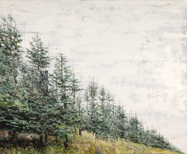 , 'A diagonal composition,' 2019, Galerie Bart