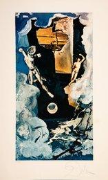 The tower, from Lyle Stuart Tarot Prints