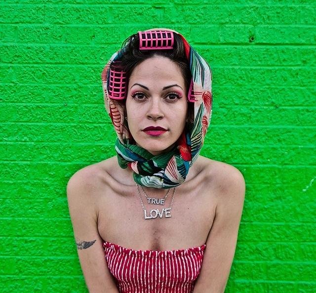 Ruben Natal-San Miguel, 'Jennifer (Unlock the Vixen), Green - Arthur Avenue, Bronx NY', 2019, LMAKgallery