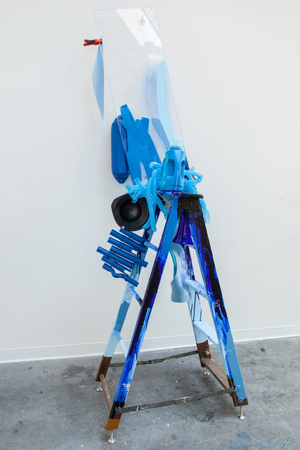 , 'Expression Blue,' 2013, Kavi Gupta