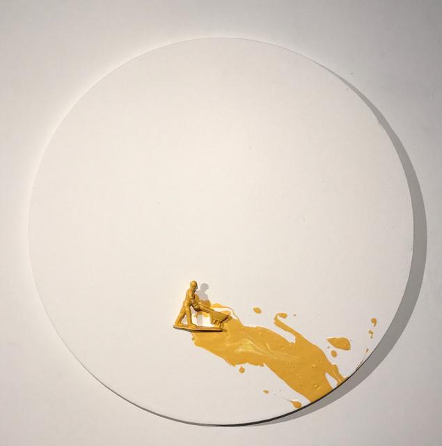 , 'Yellow Drips,' 2016, Beatriz Gil Galería