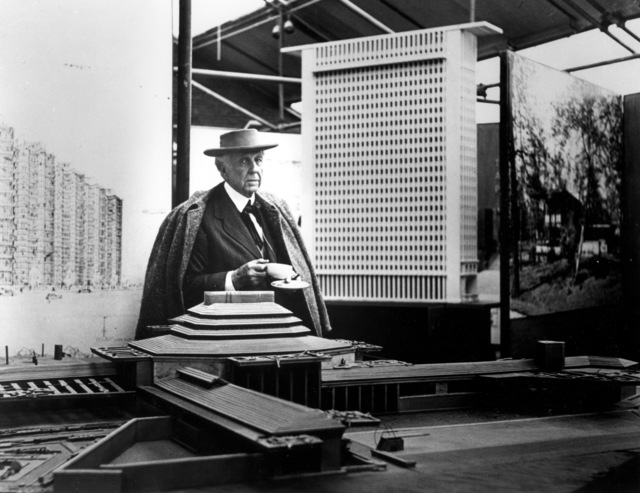 , 'Frank Lloyd Wright, Tea Break #2, Guggenheim Pavilion, NYC ,' 1953, Edward Cella Art and Architecture