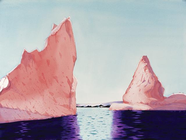 , 'Icebergs, Hermit Island, Antarctica,' , Dowling Walsh