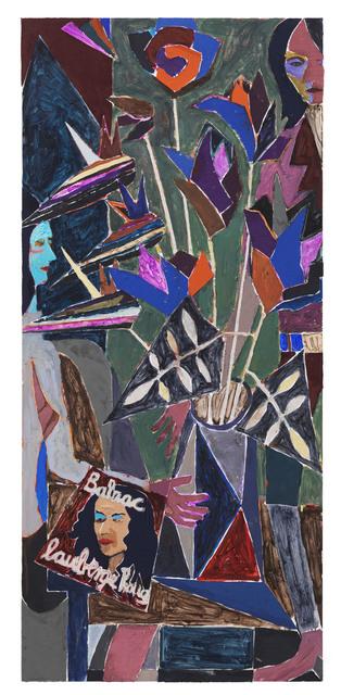 , 'Stilleben mit Gladiolen und Zirkonien,' 2014, Hans Alf Gallery