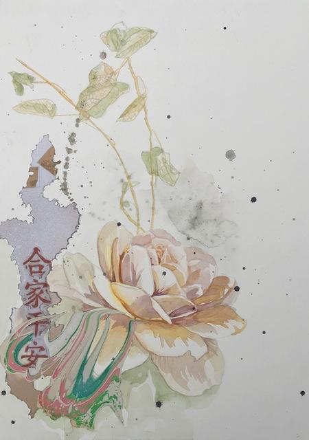 , 'Pale Rose,' 2016, Ghostprint Gallery