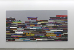 , 'Pile of Books (horizontal),' 2012, Bryce Wolkowitz Gallery