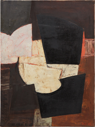 Adrian Heath, 'Composition, brown, black & pink,' 1955, Phillips: 20th Century and Contemporary Art Day Sale (February 2017)