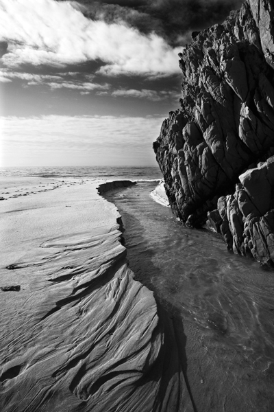 Cara Weston, 'River, Garrapata Beach', 2007, Photography, Archival Pigment Print, Weston Gallery