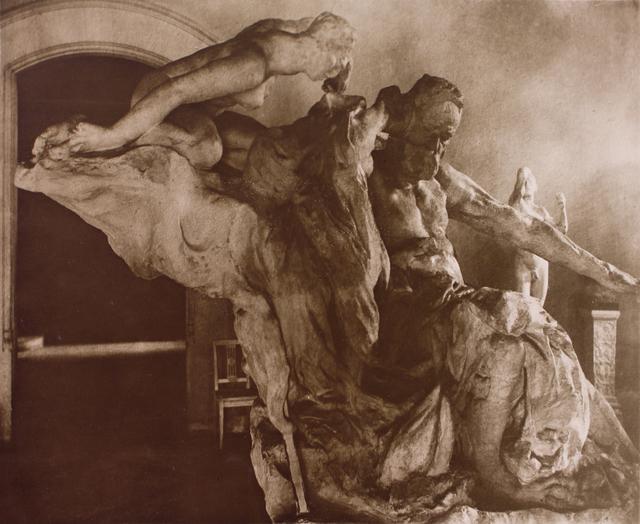 , 'Monument à Victor Hugo (Monument to Victor Hugo),' ca. 1915, Huxley-Parlour